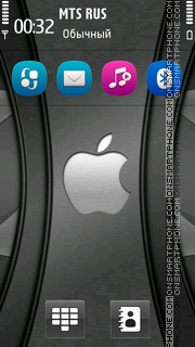 Apple Grey Hd theme screenshot