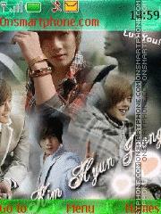 Kim Hyun Joong theme screenshot