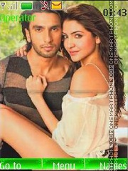 Ranveer and Anushka theme screenshot