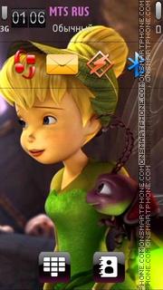 Скриншот темы Tinkerbell 07