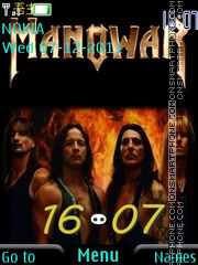 Manowar 04 theme screenshot