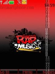 Rap Music theme screenshot