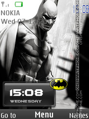 Batman In City theme screenshot