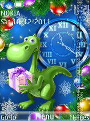 Dragon Year theme screenshot
