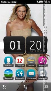 Скриншот темы Charlize Theron 25