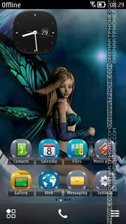 Moon Fairy 04 theme screenshot
