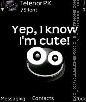 Скриншот темы Cute me