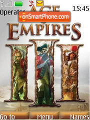 Age Of Empires 3 theme screenshot
