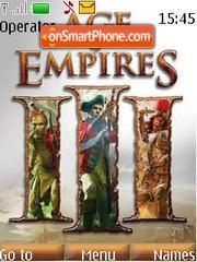Age Of Empires 3 es el tema de pantalla