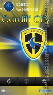 Cardiff City FC tema screenshot