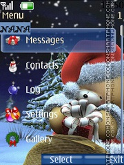 4ever Teddy CLK theme screenshot