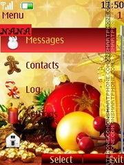Christmas CLK theme screenshot