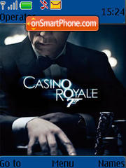 007 Casino Royale theme screenshot