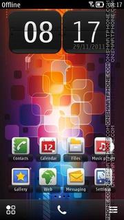 Color Glow es el tema de pantalla