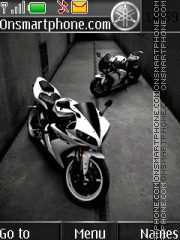 Yamaha R1 2015 theme screenshot