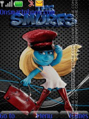 Smurfette 02 theme screenshot