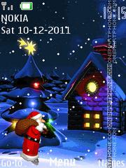 Santa Claus 04 theme screenshot