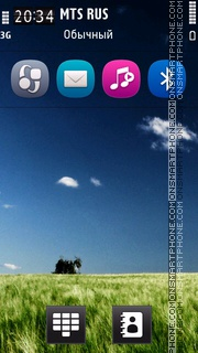 Nature Breeze Hd tema screenshot