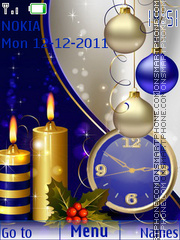 Celebration clock tema screenshot