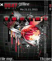 Disco music 02 Theme-Screenshot
