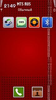 iRed V2 theme screenshot