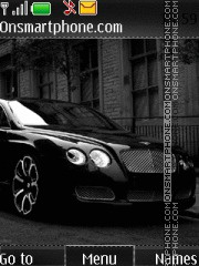 Black Bentley 02 theme screenshot