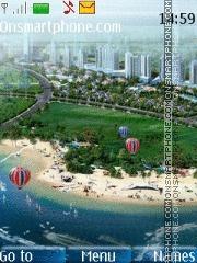 Beach 36 theme screenshot