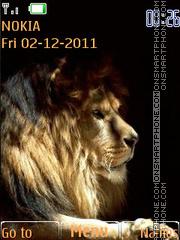 Lion 36 theme screenshot