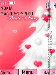 Winter Love 02 theme screenshot