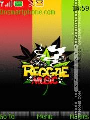 Reggae Music theme screenshot