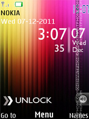 Htc Abstract theme screenshot