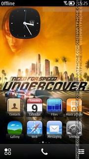 Nfs Undercover 13 theme screenshot