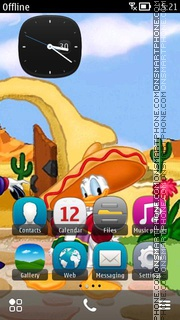 Mexican Donald theme screenshot