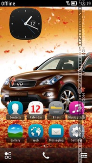 Infiniti 05 theme screenshot