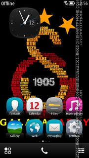 Galatasaray 1905 01 theme screenshot