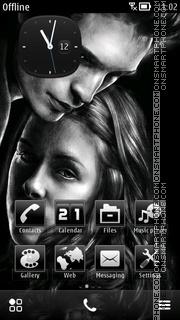 Скриншот темы Twilight Saga ^ 3