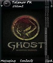 Ghost theme screenshot