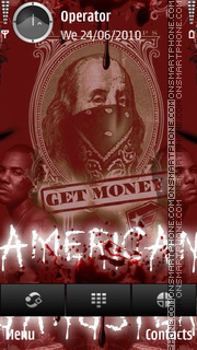 American gangster theme screenshot