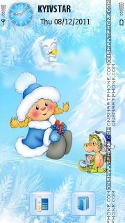 Winter! es el tema de pantalla