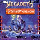 Megadeth theme screenshot