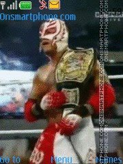 Rey Mysterio theme screenshot