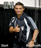 C.Ronaldo2 theme screenshot