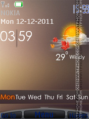 Iphone 5 theme screenshot