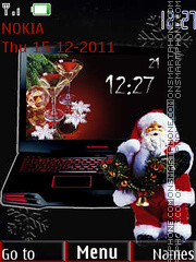 Скриншот темы Santa