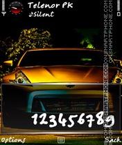 Скриншот темы Golden 350