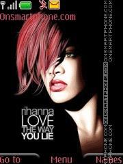 Rihanna 12 theme screenshot
