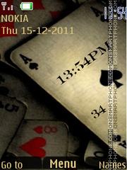 Poker Clock 01 theme screenshot