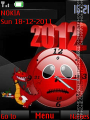 Dragon 2012 By ROMB39 theme screenshot
