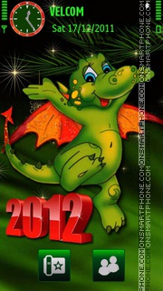Year of the Dragon es el tema de pantalla