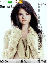 Selena Gomez 06 theme screenshot